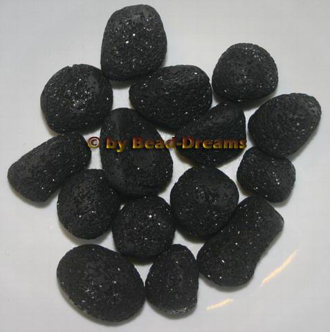 lavasteine schwarz backburner grill nachr sten. Black Bedroom Furniture Sets. Home Design Ideas